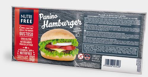 Nutrifree - Panino hamburger