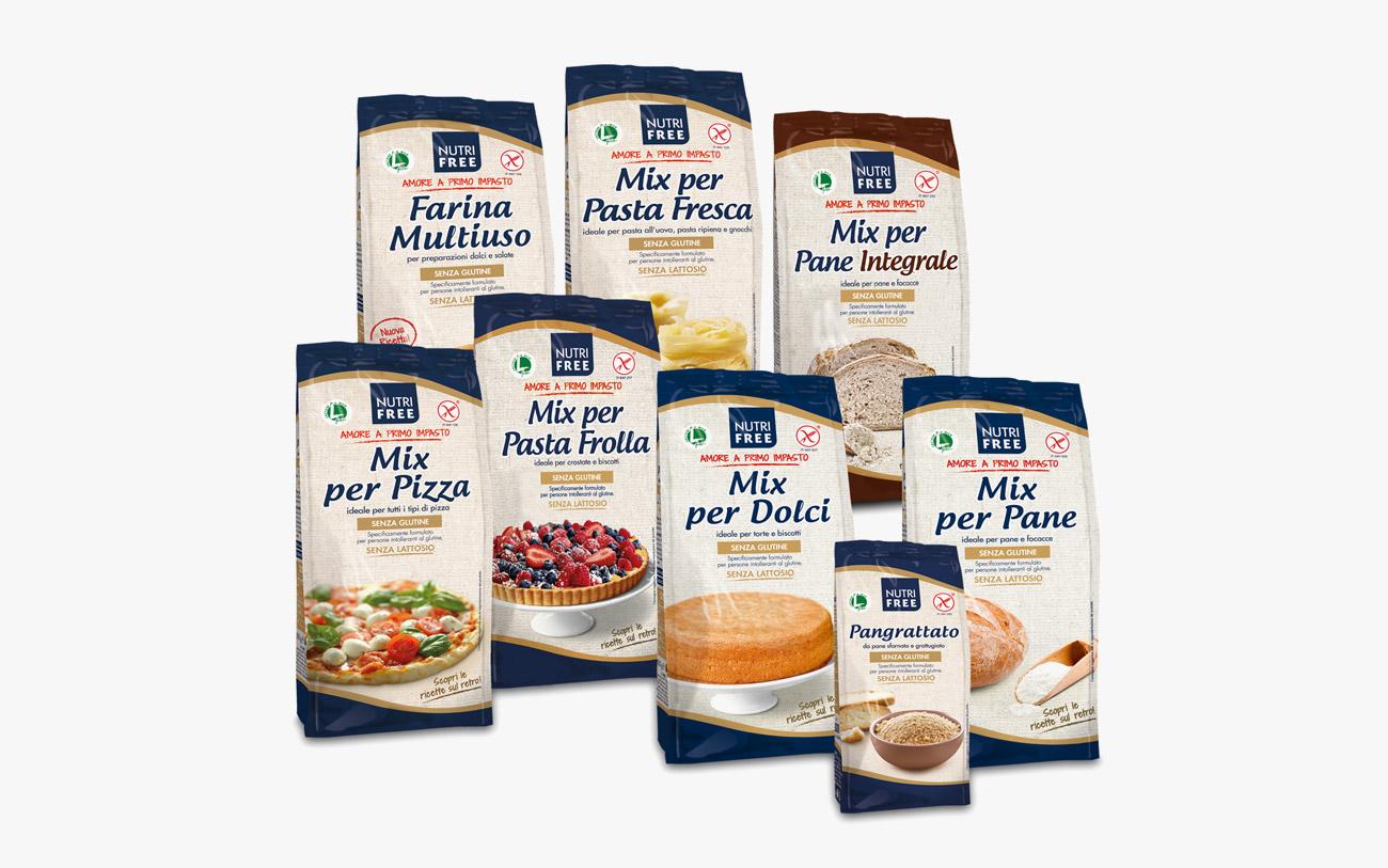 Mix farine e pangrattato